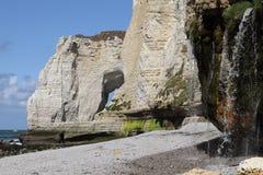 cliff Normandia Zdjęcia Stock