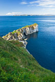 Cliff in Northern Ireland Royalty Free Stock Photos
