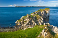 Cliff in Northern Ireland Stock Photo