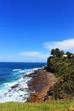 Cliff Ocean Beach Landscape Immagine Stock Libera da Diritti