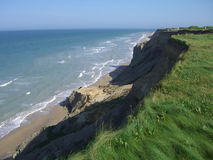 cliff oceanu przeoczyć Zdjęcie Stock