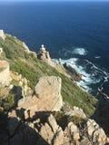 cliff oceanu przeoczyć Zdjęcia Stock