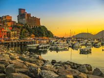 Cliff Of Lerici Stock Photography