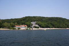 Cliff, one of the fishermen's settlements on Polish coast. Royalty Free Stock Photo
