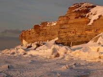 Cliff of Pakri. Paldiski, Estonia Stock Images