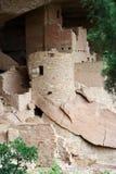 Cliff Palace. Ruins in Mesa Verde National Park, Colorado Royalty Free Stock Photos