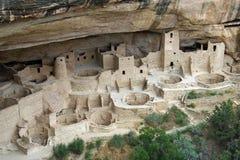 Cliff Palace. In Mesa Verde National Park, Colorado Royalty Free Stock Photos