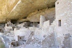 Cliff Palace Dwelling at Mesa Verde National Park Royalty Free Stock Image