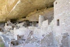 Cliff Palace Dwelling a Mesa Verde National Park Immagine Stock Libera da Diritti