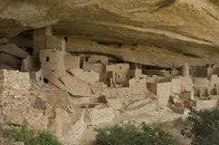 Cliff Palace at Mesa Verde. National Park, Colorado USA. Cliff Palace contained 150 rooms and 23 kivas and had a population of approximately 100 ancient pueblo stock photos