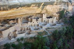 Cliff Palace at Mesa Verde Stock Photo