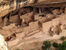 Cliff Palace---Mesa Verde stock photography