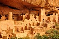 Cliff Palace. Mesa Verde Cliff Palace Colorado USA Stock Photos