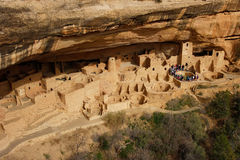 Cliff Palace, Mesa Verde National Park, Colorado Stock Photos
