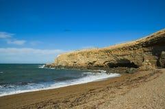 cliff patagonii Zdjęcia Royalty Free