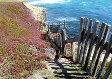 Cliff Path Royalty Free Stock Photo