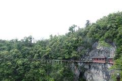 Cliff Path in Tianmen Shan. Cliff Path in Tianmen Mountain taken in China Stock Photography