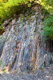 Cliff in the quarry at Bromberg Royalty Free Stock Photography
