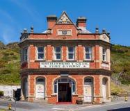 Cliff Railway Terminus Aberystwyth Royaltyfri Bild