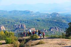 Cliff rocks panorama, Belogradchik, Bulgaria Stock Image