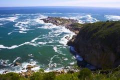 Cliff& x27 ; s de péninsule d'Oudeschip Photographie stock libre de droits