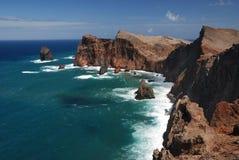 Cliff sao lourenco, maderia, portugal Stock Photo