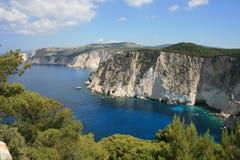 cliff sceniczny morza Obraz Royalty Free