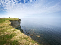 Cliff at sea Royalty Free Stock Image