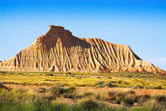 Cliff at semi-desert landscape Stock Photography