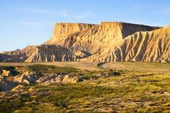Cliff at semi-desert landscape Royalty Free Stock Image