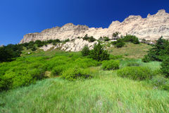 Cliff Shelf Badlands National Park Royalty Free Stock Photos