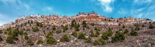 Cliff Side Of die Livermore-Schüssel Stockfotografie