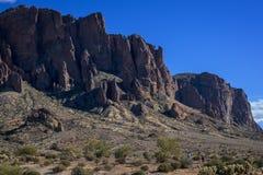 Cliff Side Hike Foto de Stock Royalty Free