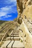 Cliff-side Stairs Stock Photography