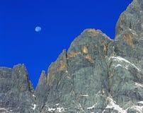 Cliff in sky Stock Image