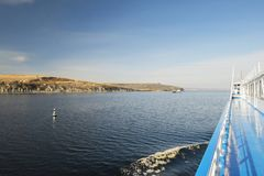 Cliff Of Stepan Razin Lizenzfreie Stockbilder