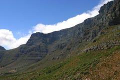 Cliff of table mountain Stock Photos