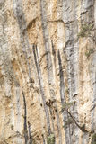 Cliff texture Stock Image