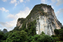 Cliff in Thailand Royalty Free Stock Images