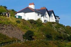 Cliff Top House Stock Photos
