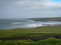 Cliff Top Walks, Kilkee, Co Clare, Irlande image libre de droits