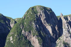 Cliff Tops at Western Brook Pond Stock Image