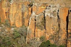 cliff twarz obrazy stock