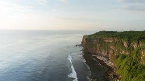 Cliff in Uluwatu Temple Stock Photos