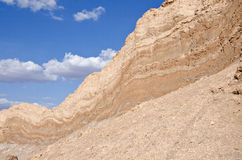 Cliff in the Valley of the Moon Atacama Desert #3 Stock Photography