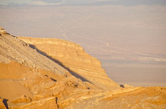 Cliff in the Valley of the Moon Atacama Desert #4 Stock Photo