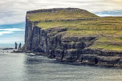 Cliff view in faroe