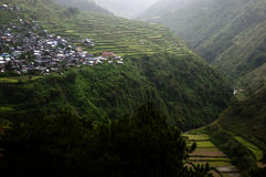 Cliff village - Philippines Royalty Free Stock Image