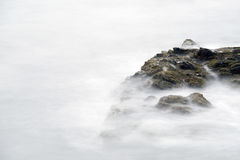 Cliff Walk i Rhode - ö Arkivbild