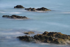 Cliff Walk Newport, Île de Rhode photo stock